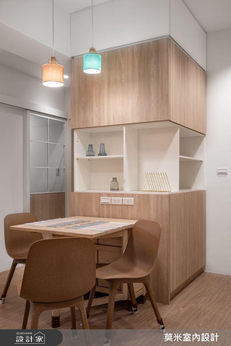 30坪老屋(16~30年)_混搭風餐廳案例圖片_莫米室內設計_莫米_恬靜之5