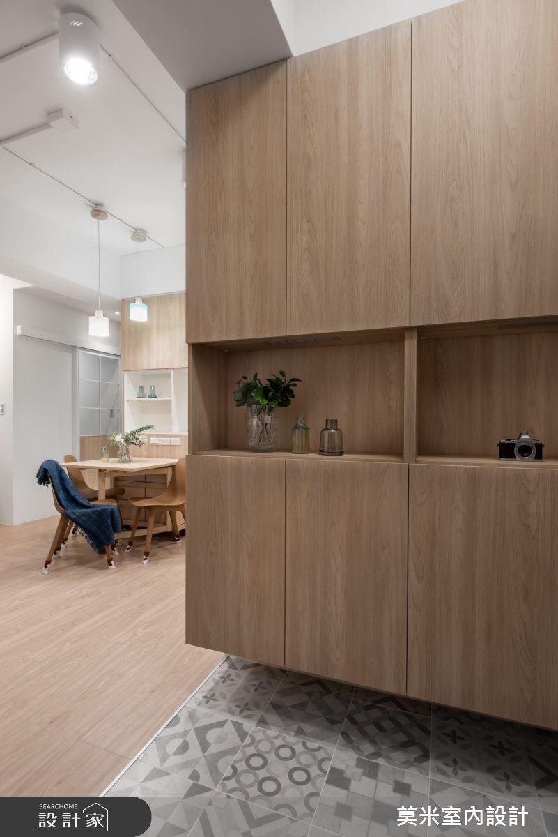 30坪老屋(16~30年)_混搭風玄關案例圖片_莫米室內設計_莫米_恬靜之3