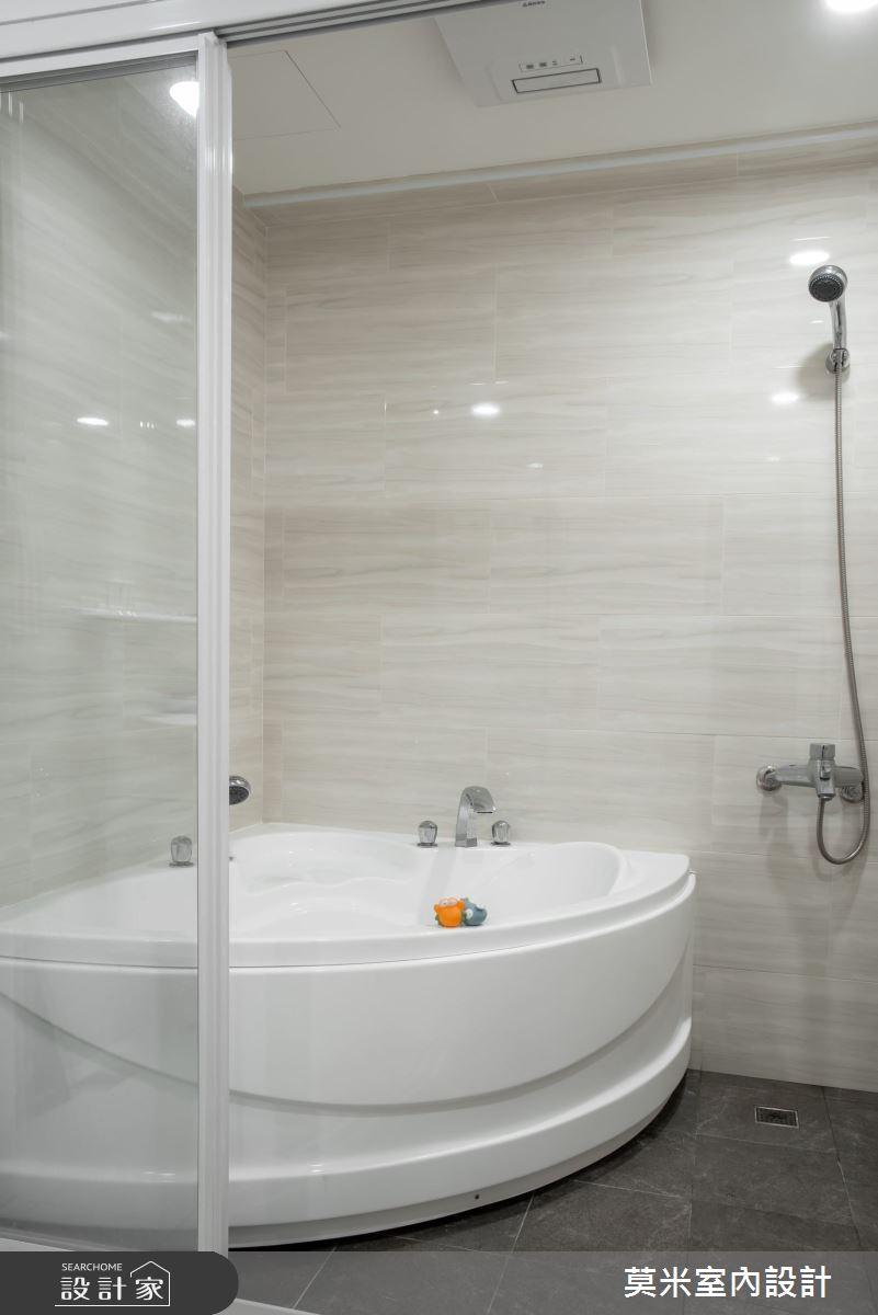 30坪老屋(16~30年)_混搭風浴室案例圖片_莫米室內設計_莫米_恬靜之15