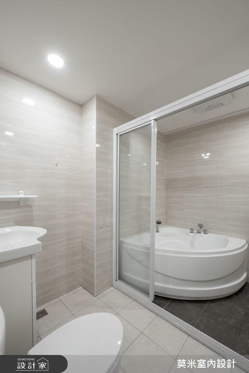 30坪老屋(16~30年)_混搭風浴室案例圖片_莫米室內設計_莫米_恬靜之14