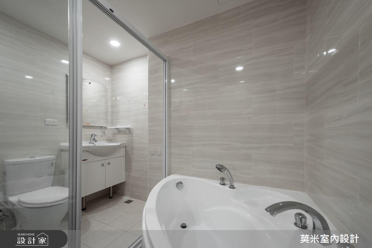 30坪老屋(16~30年)_混搭風浴室案例圖片_莫米室內設計_莫米_恬靜之16