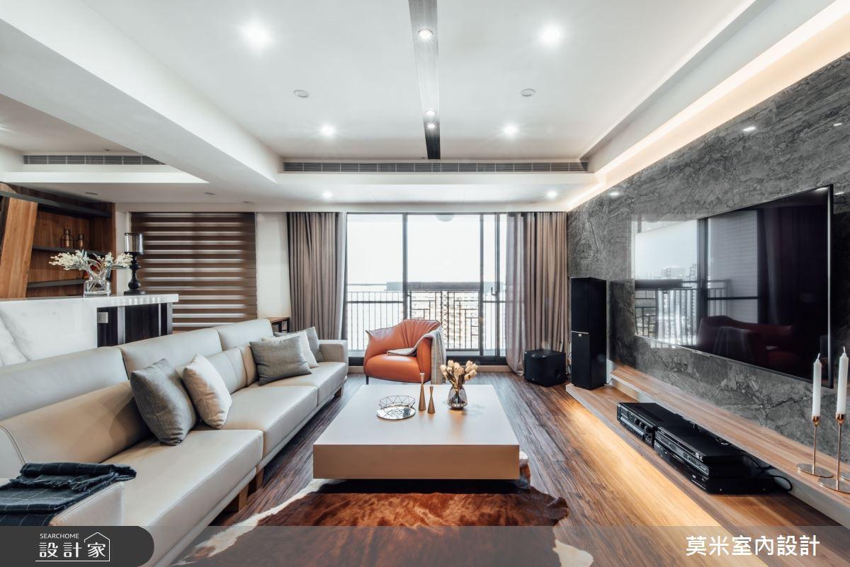 75坪新成屋(5年以下)_混搭風客廳案例圖片_莫米室內設計_莫米_秘境之3