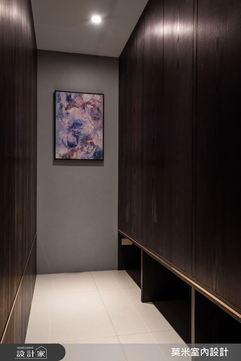 66坪新成屋(5年以下)_簡約風走廊案例圖片_莫米室內設計_莫米_光影軌跡之26