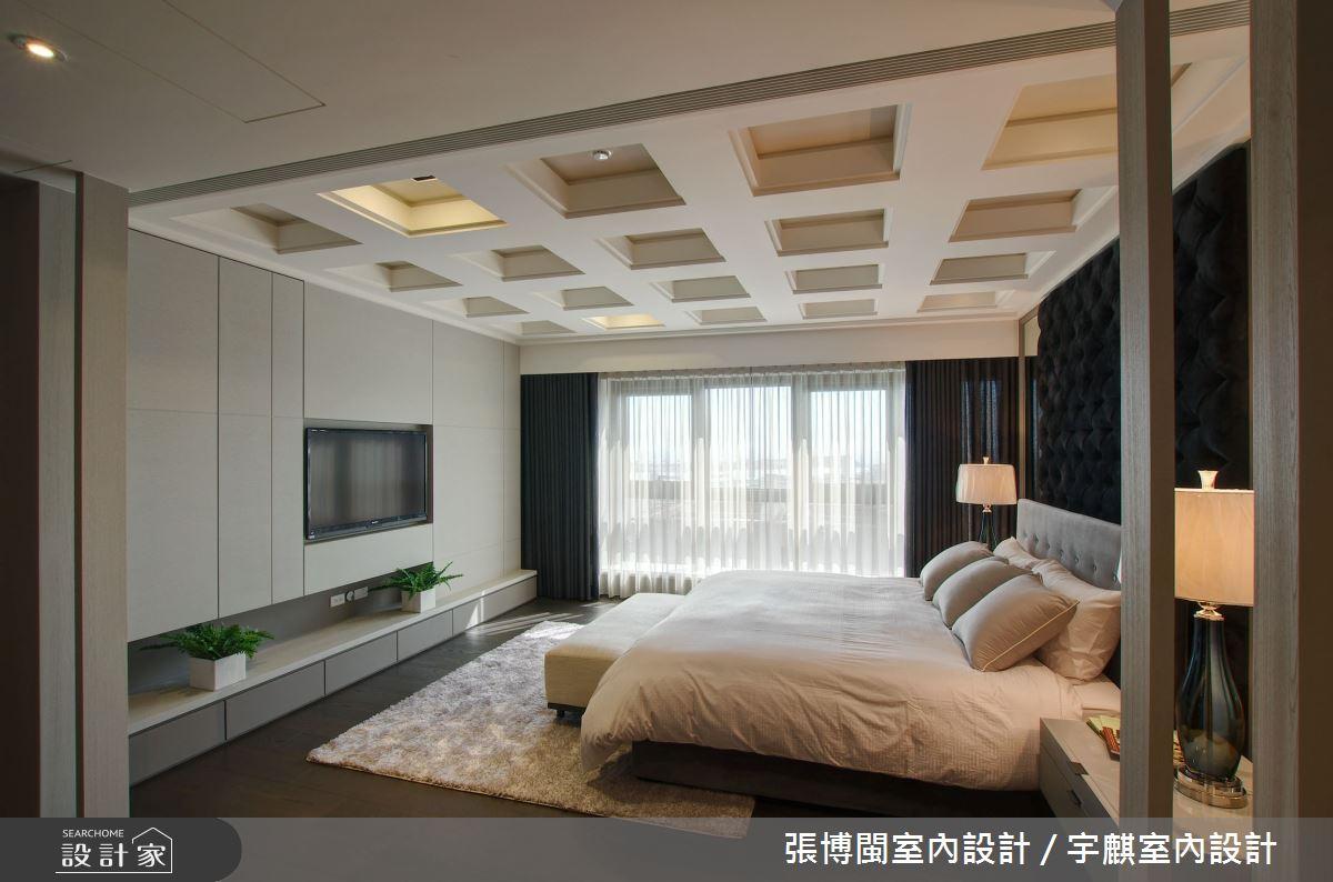 230坪新成屋(5年以下)_現代風臥室案例圖片_張博閩室內設計 / 宇麒室內設計_張博閩_03之26