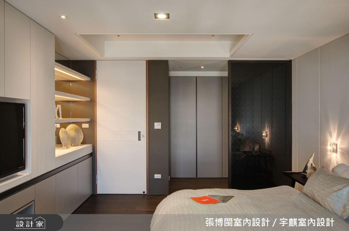 230坪新成屋(5年以下)_現代風臥室案例圖片_張博閩室內設計 / 宇麒室內設計_張博閩_03之32
