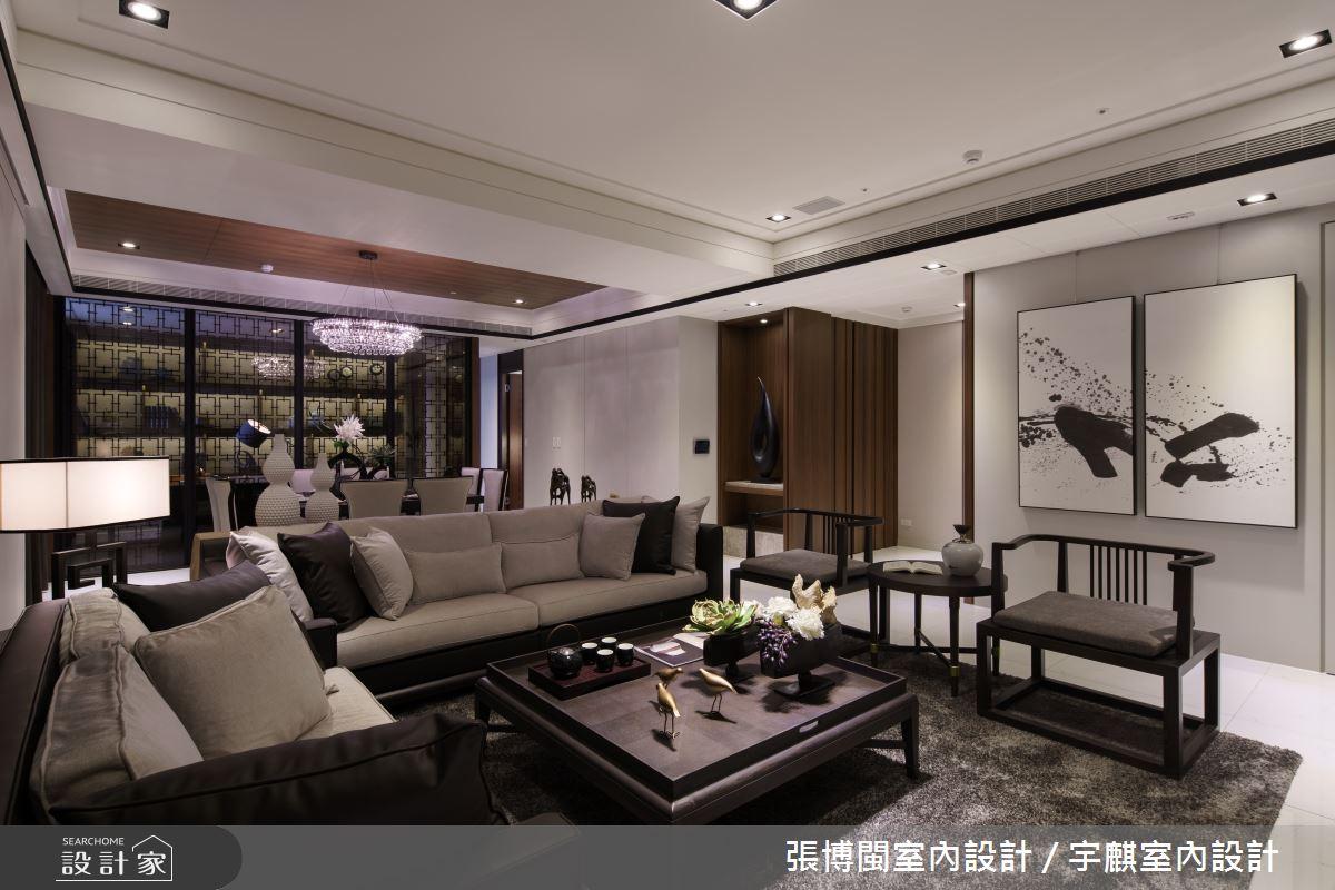 65坪新成屋(5年以下)_現代風客廳案例圖片_張博閩室內設計 / 宇麒室內設計_張博閩_07之4