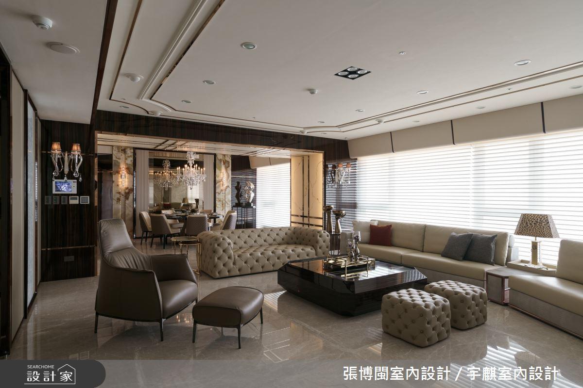 70坪新成屋(5年以下)_奢華風客廳案例圖片_張博閩室內設計 / 宇麒室內設計_張博閩_08之3