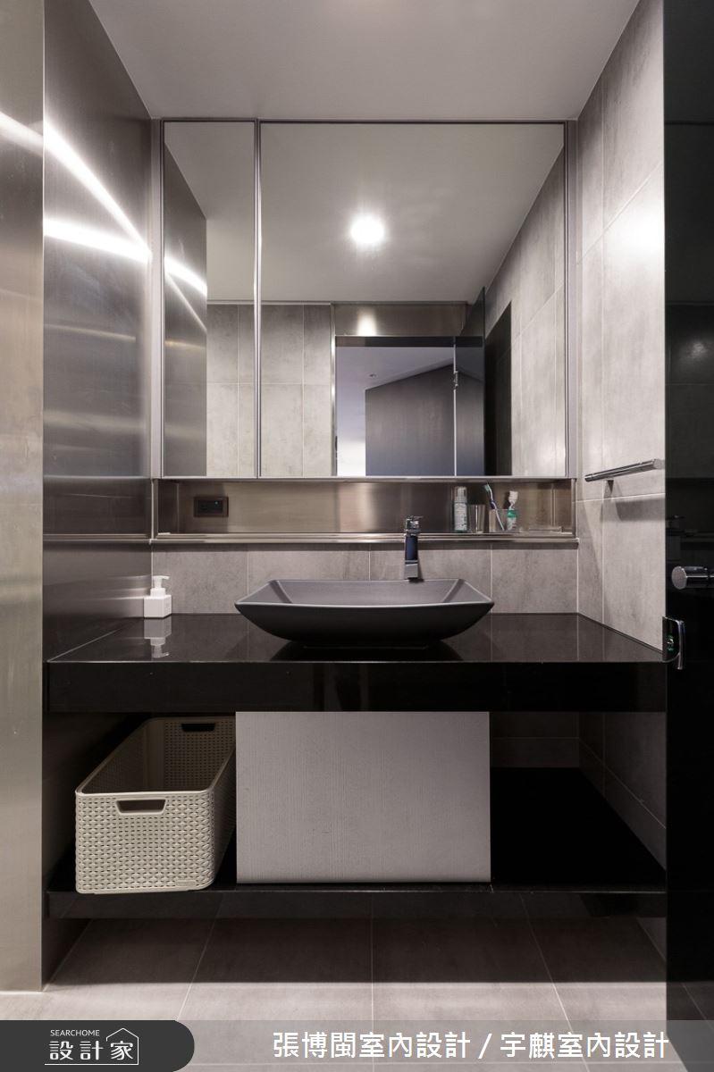 120坪新成屋(5年以下)_現代風浴室案例圖片_張博閩室內設計 / 宇麒室內設計_張博閩_11之33