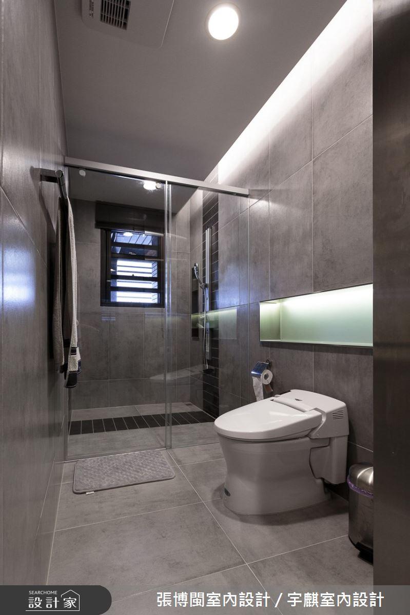 120坪新成屋(5年以下)_現代風浴室案例圖片_張博閩室內設計 / 宇麒室內設計_張博閩_11之34