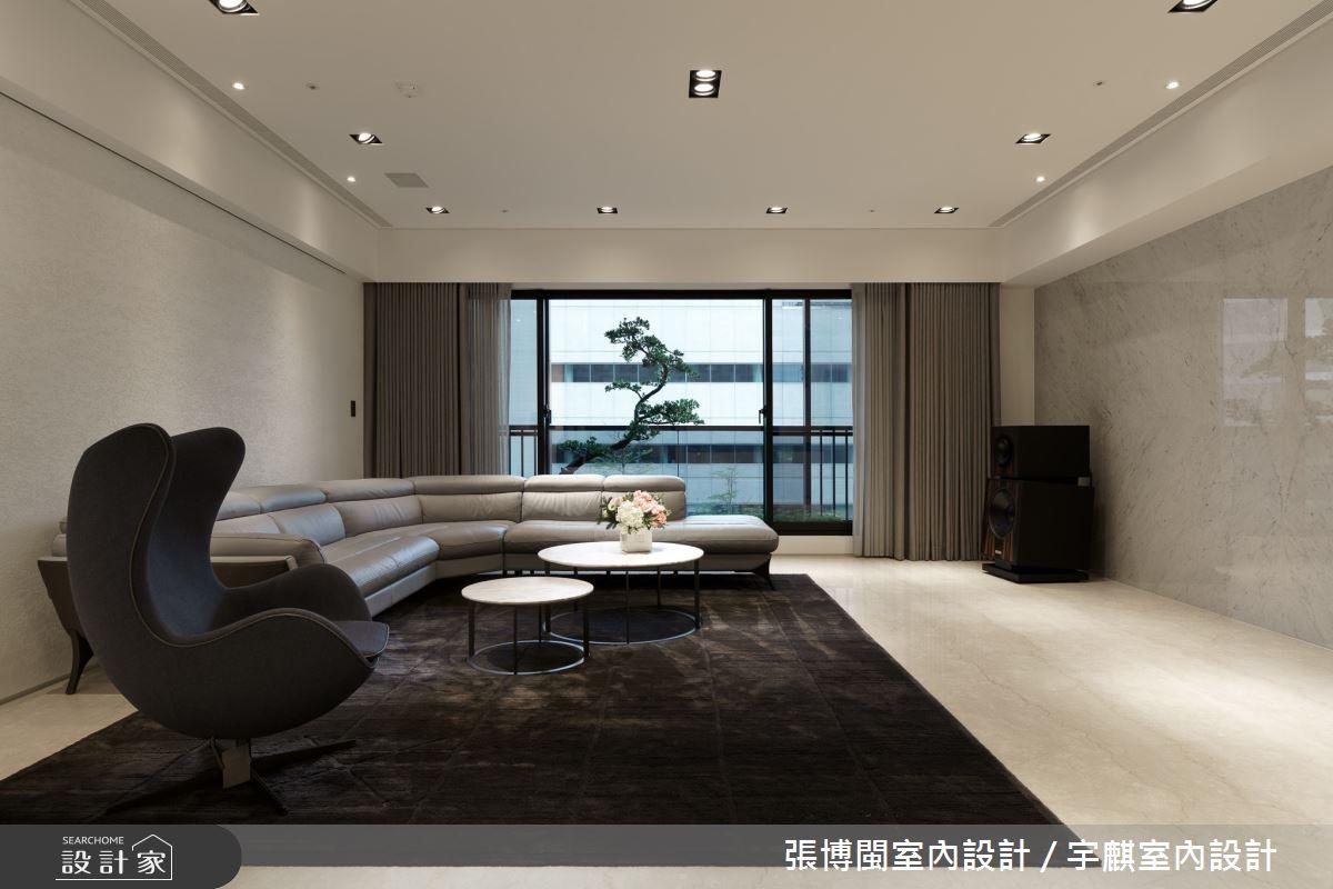65坪新成屋(5年以下)_現代風客廳案例圖片_張博閩室內設計 / 宇麒室內設計_張博閩_13之3