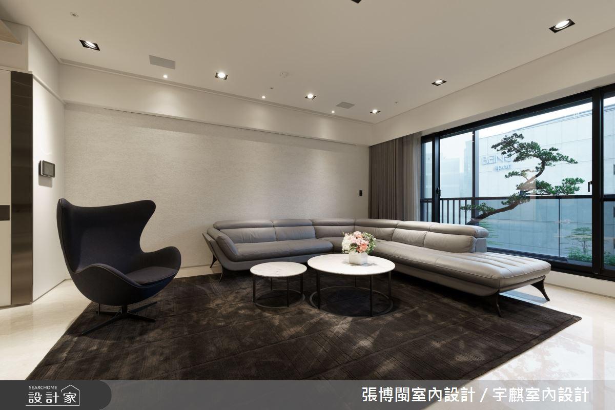 65坪新成屋(5年以下)_現代風客廳案例圖片_張博閩室內設計 / 宇麒室內設計_張博閩_13之2