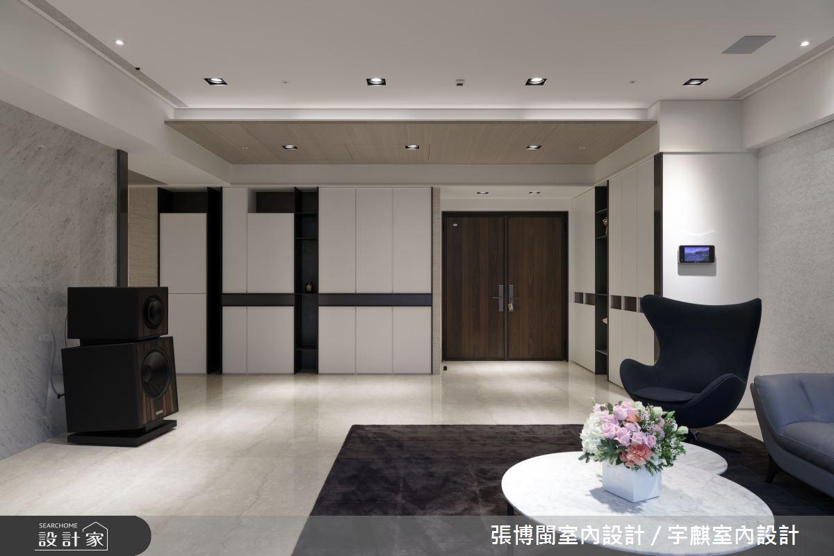 65坪新成屋(5年以下)_現代風客廳案例圖片_張博閩室內設計 / 宇麒室內設計_張博閩_13之5