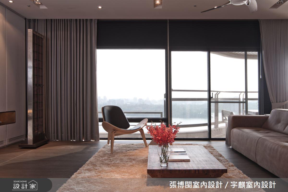 46坪新成屋(5年以下)_現代風客廳案例圖片_張博閩室內設計 / 宇麒室內設計_張博閩_14之3