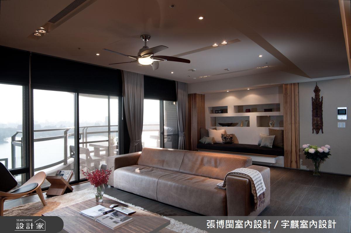 46坪新成屋(5年以下)_現代風客廳案例圖片_張博閩室內設計 / 宇麒室內設計_張博閩_14之4
