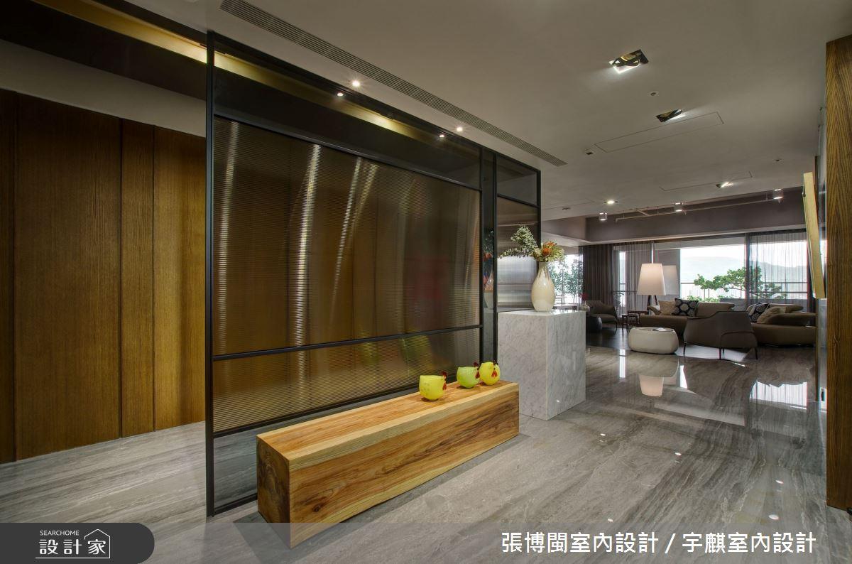 88坪新成屋(5年以下)_簡約風玄關案例圖片_張博閩室內設計 / 宇麒室內設計_張博閩_15之3