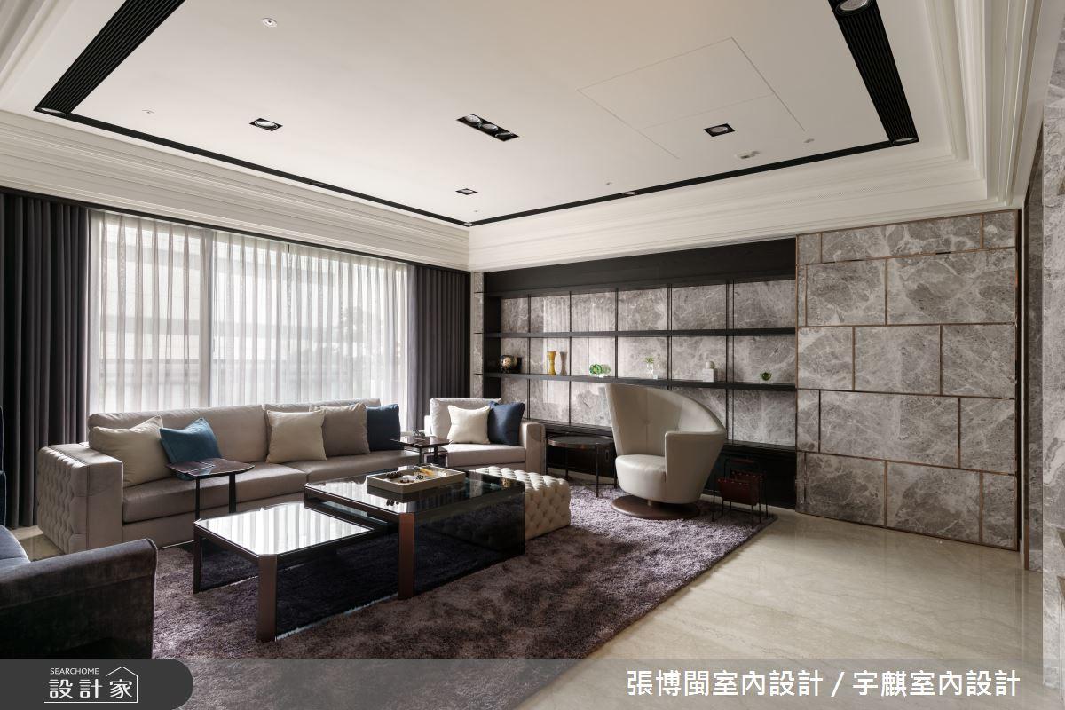 65坪新成屋(5年以下)_現代風客廳案例圖片_張博閩室內設計 / 宇麒室內設計_張博閩_16之3
