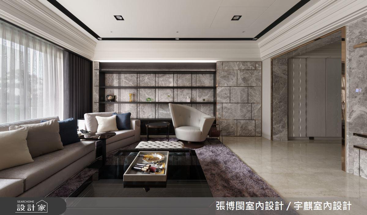 65坪新成屋(5年以下)_現代風客廳案例圖片_張博閩室內設計 / 宇麒室內設計_張博閩_16之2