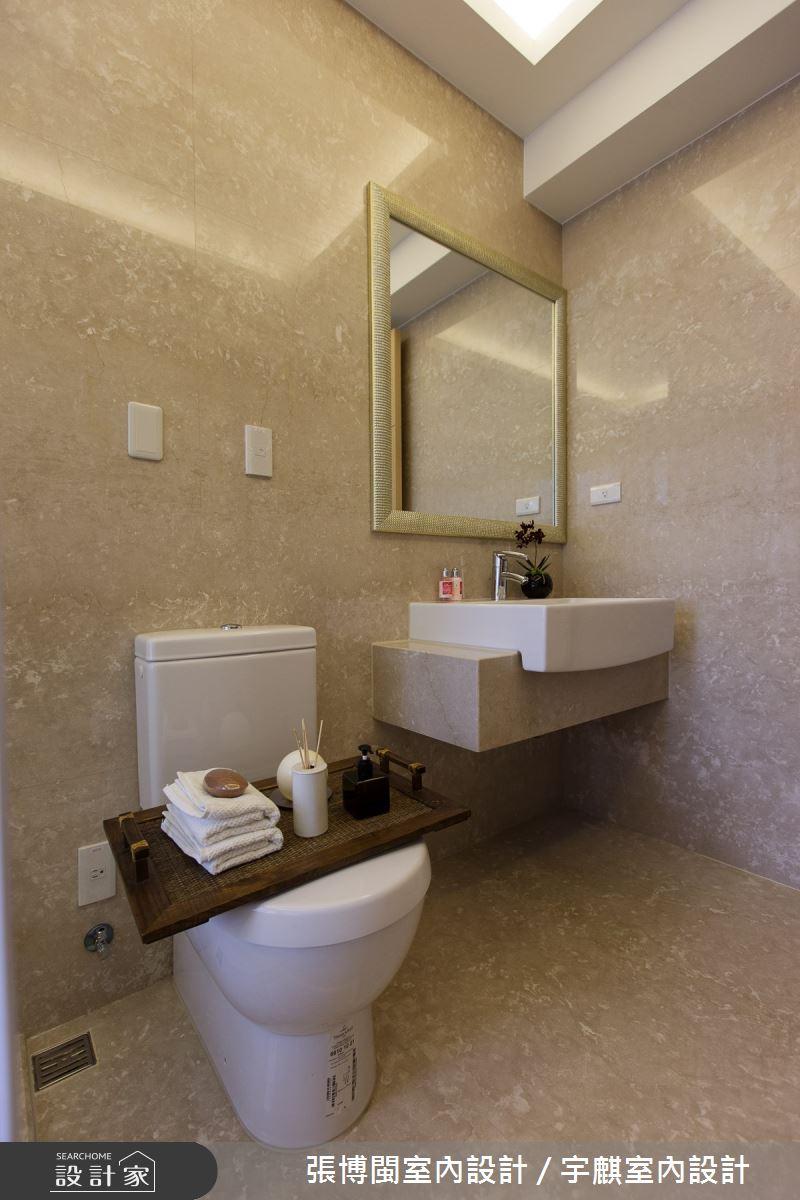 50坪新成屋(5年以下)_奢華風浴室案例圖片_張博閩室內設計 / 宇麒室內設計_張博閩_17之15