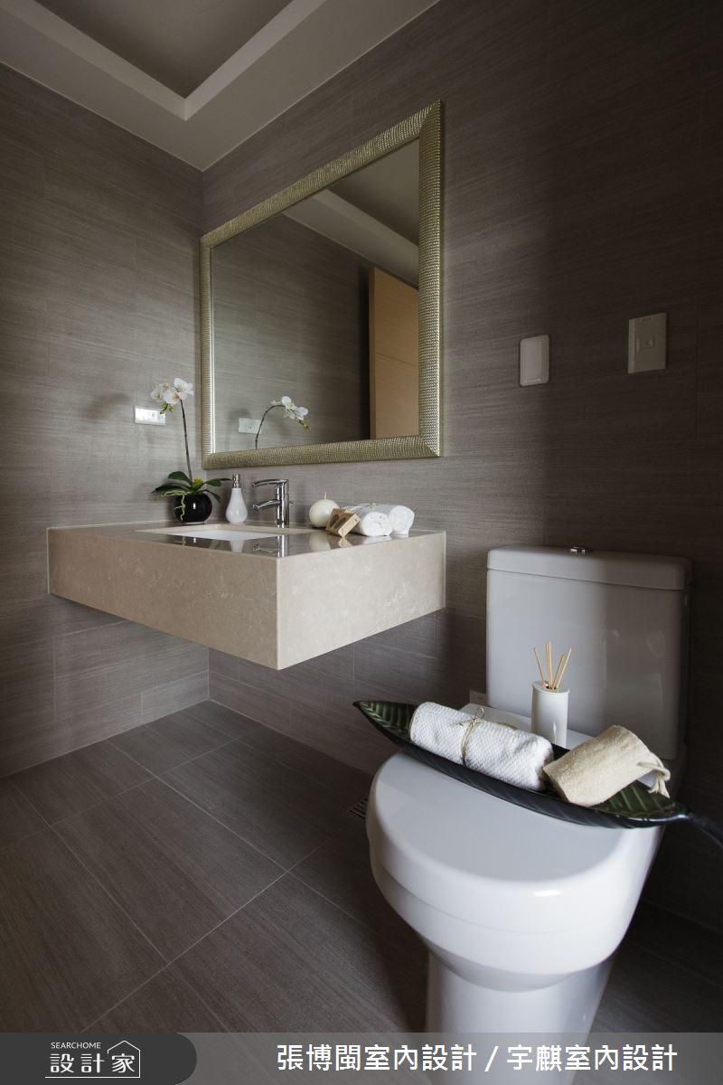 50坪新成屋(5年以下)_奢華風浴室案例圖片_張博閩室內設計 / 宇麒室內設計_張博閩_17之20