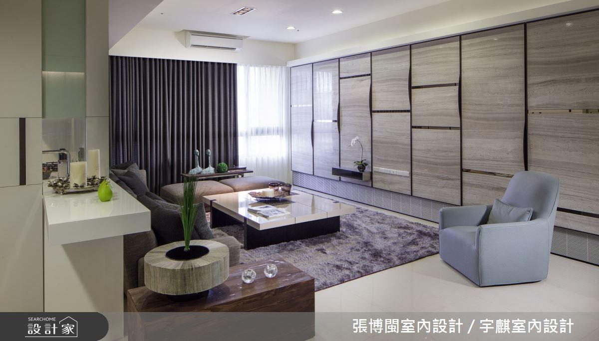 50坪新成屋(5年以下)_奢華風客廳案例圖片_張博閩室內設計 / 宇麒室內設計_張博閩_17之3