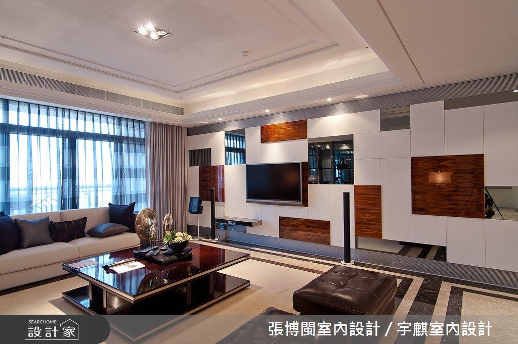 77坪新成屋(5年以下)_奢華風客廳案例圖片_張博閩室內設計 / 宇麒室內設計_張博閩_18之4