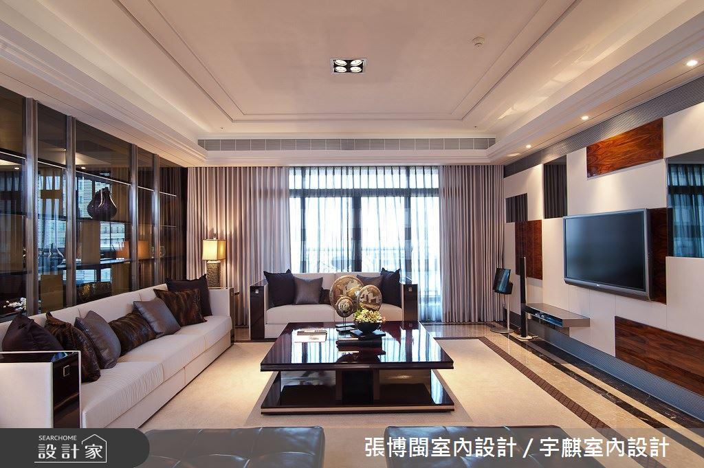 77坪新成屋(5年以下)_奢華風客廳案例圖片_張博閩室內設計 / 宇麒室內設計_張博閩_18之5