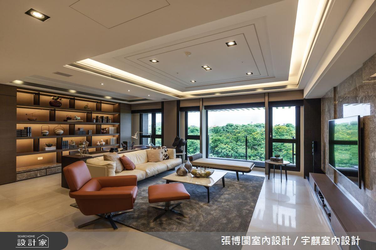 52坪新成屋(5年以下)_新中式風客廳案例圖片_張博閩室內設計 / 宇麒室內設計_張博閩_19之4