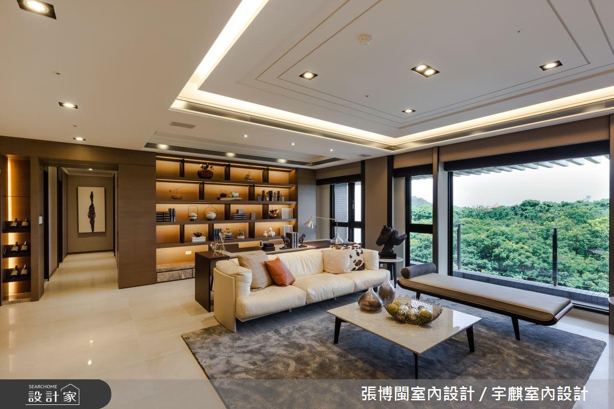 52坪新成屋(5年以下)_新中式風客廳案例圖片_張博閩室內設計 / 宇麒室內設計_張博閩_19之3