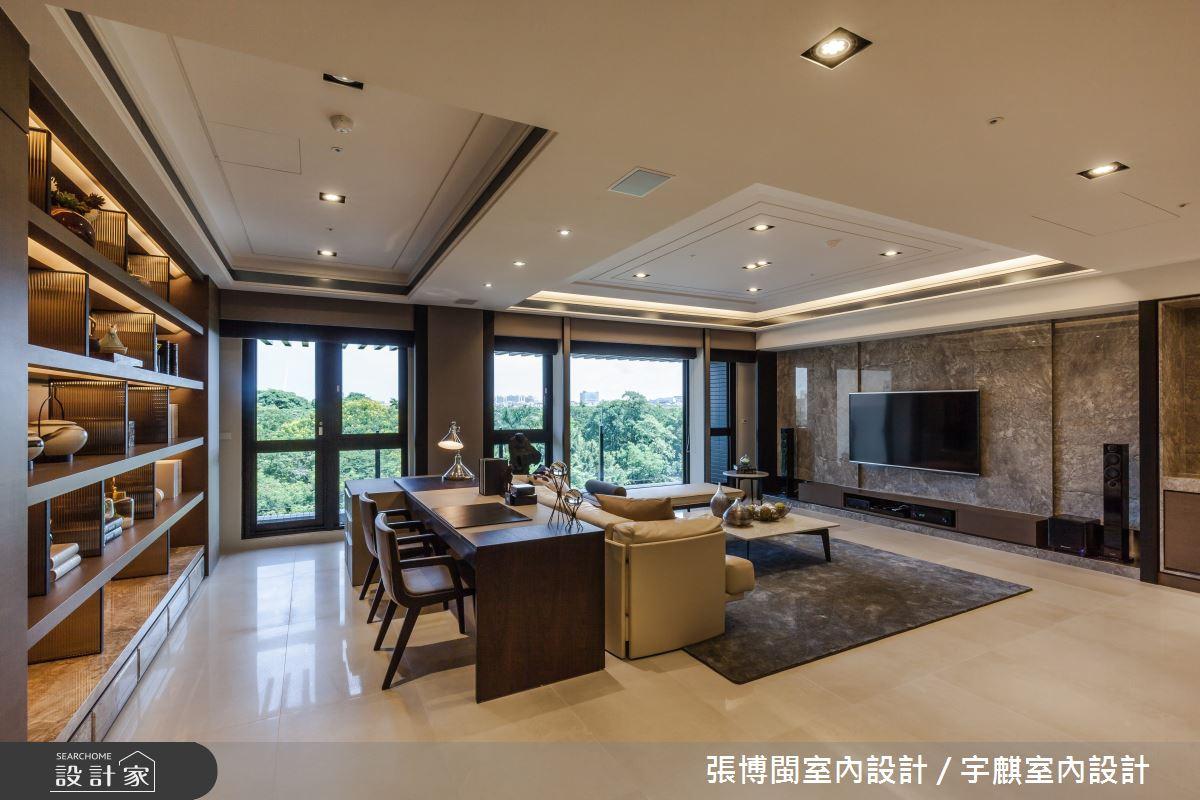 52坪新成屋(5年以下)_新中式風書房案例圖片_張博閩室內設計 / 宇麒室內設計_張博閩_19之5