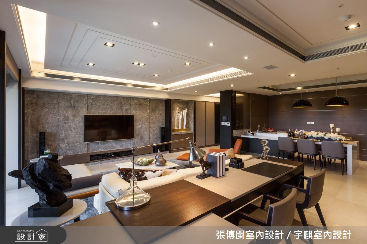52坪新成屋(5年以下)_新中式風書房案例圖片_張博閩室內設計 / 宇麒室內設計_張博閩_19之6