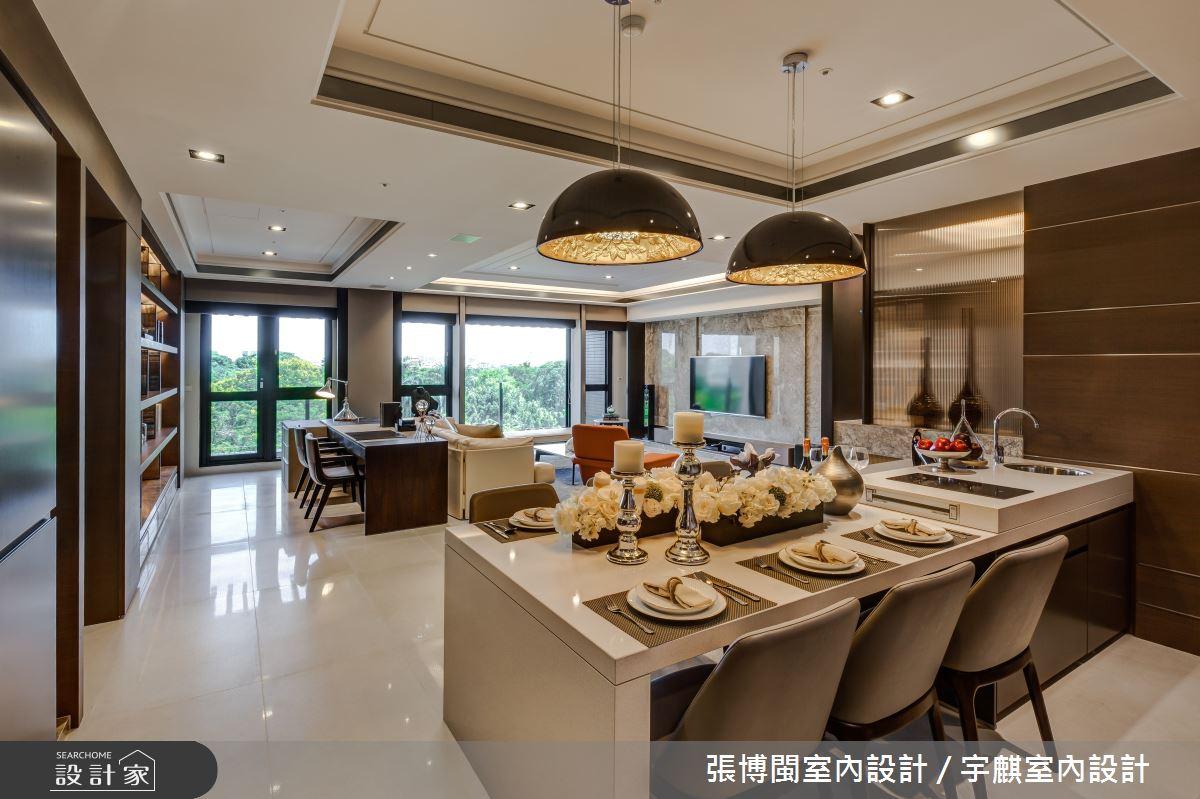 52坪新成屋(5年以下)_新中式風餐廳案例圖片_張博閩室內設計 / 宇麒室內設計_張博閩_19之8