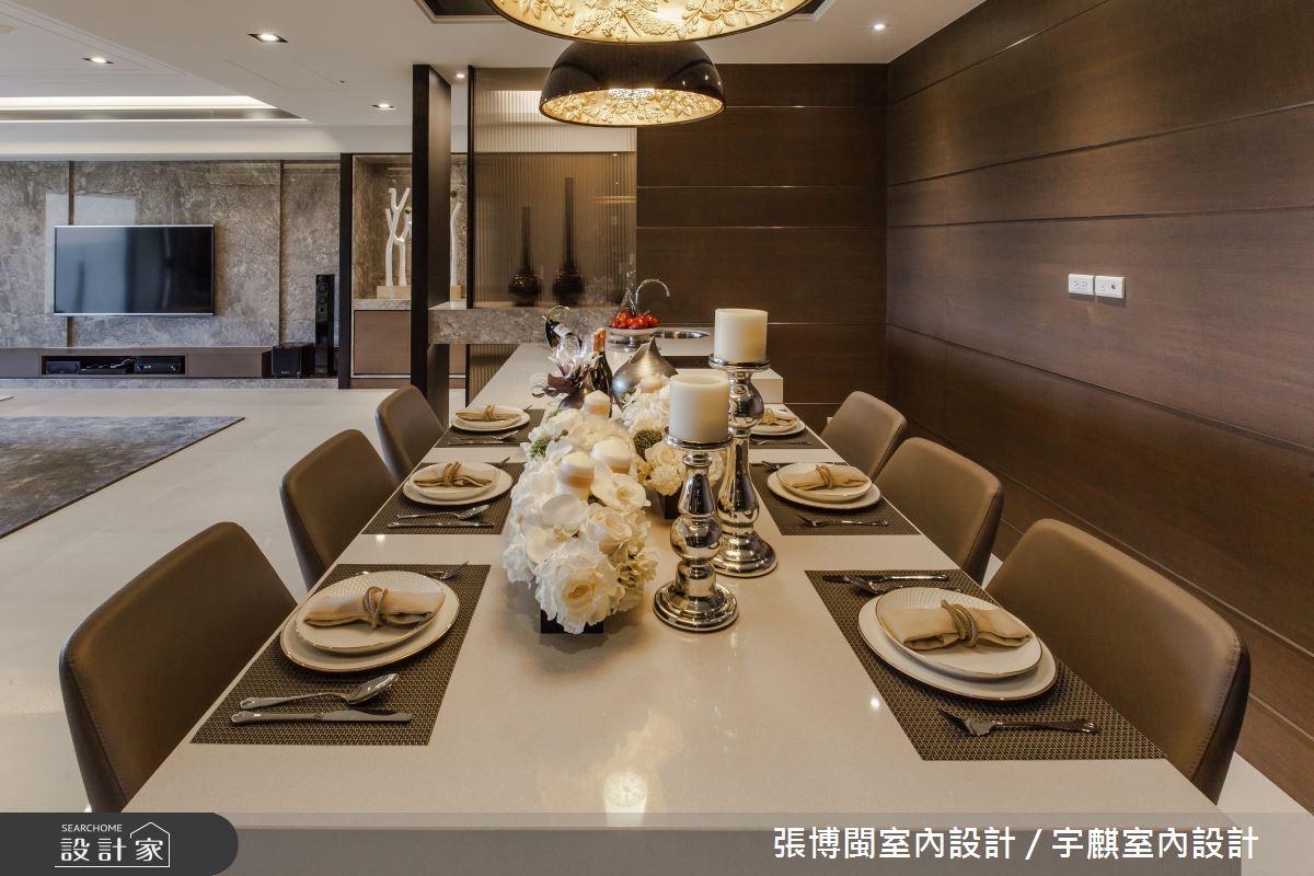 52坪新成屋(5年以下)_新中式風餐廳案例圖片_張博閩室內設計 / 宇麒室內設計_張博閩_19之10