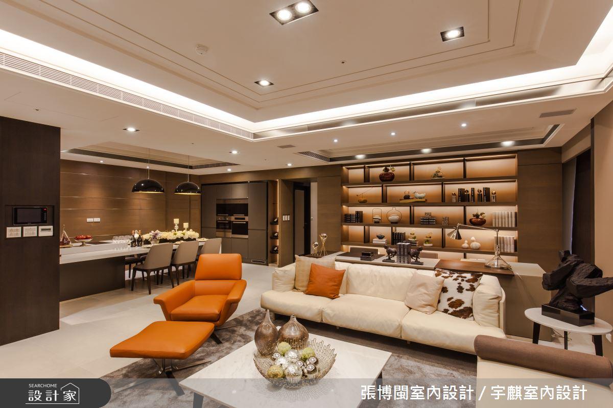 52坪新成屋(5年以下)_新中式風客廳案例圖片_張博閩室內設計 / 宇麒室內設計_張博閩_19之2