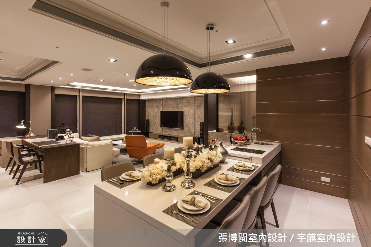 52坪新成屋(5年以下)_新中式風餐廳案例圖片_張博閩室內設計 / 宇麒室內設計_張博閩_19之9