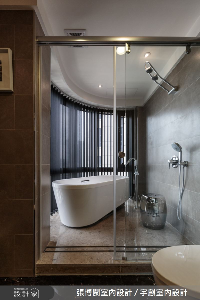 70坪新成屋(5年以下)_現代風浴室案例圖片_張博閩室內設計 / 宇麒室內設計_張博閩_21之31