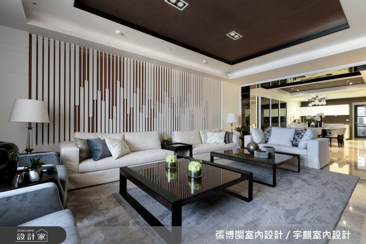 70坪新成屋(5年以下)_現代風客廳案例圖片_張博閩室內設計 / 宇麒室內設計_張博閩_21之4