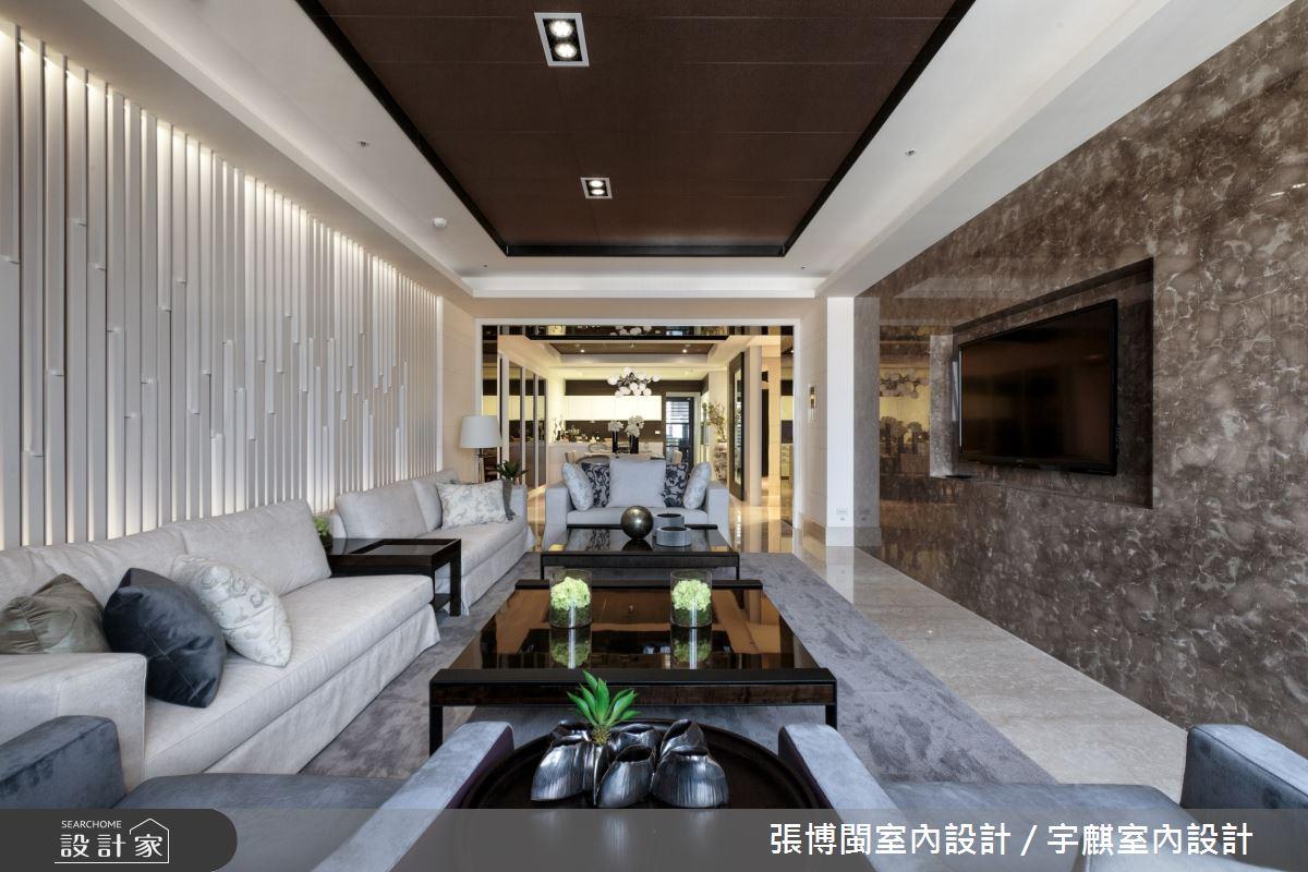 70坪新成屋(5年以下)_現代風客廳案例圖片_張博閩室內設計 / 宇麒室內設計_張博閩_21之3