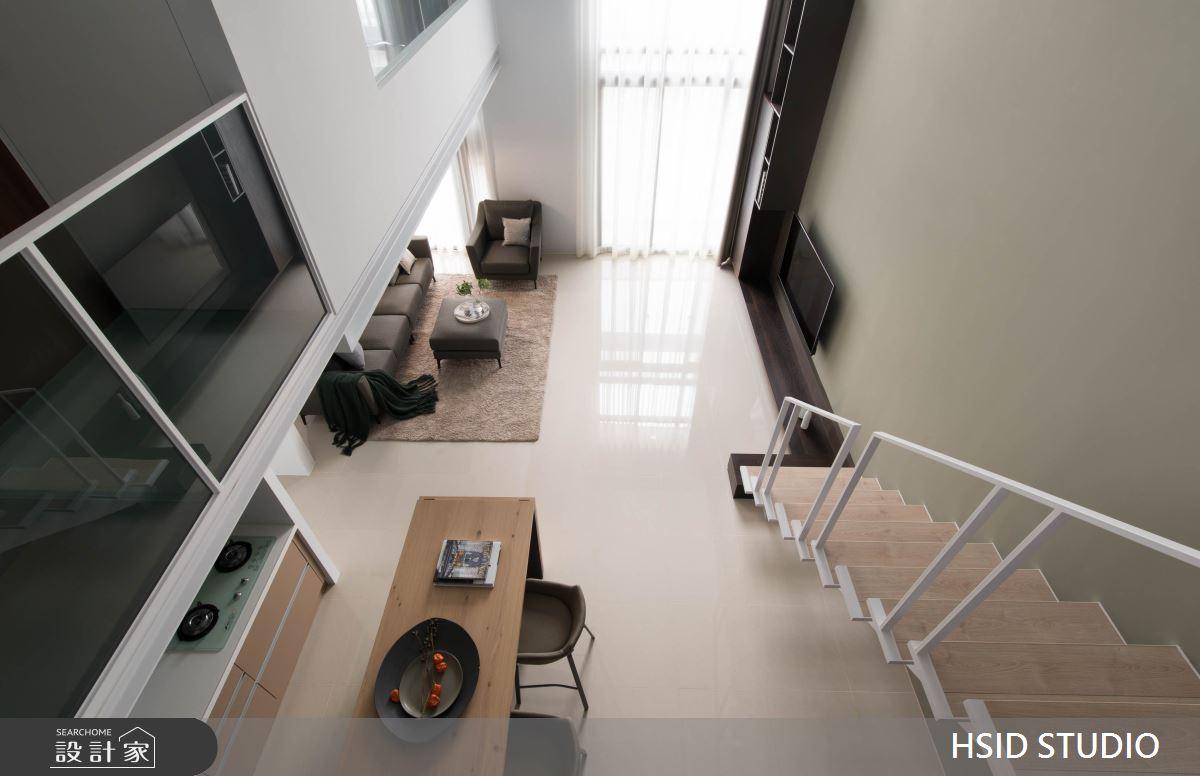 40坪新成屋(5年以下)_現代風餐廳樓梯案例圖片_樺設室內裝修設計有限公司 HSID STUDIO_樺設_10之11