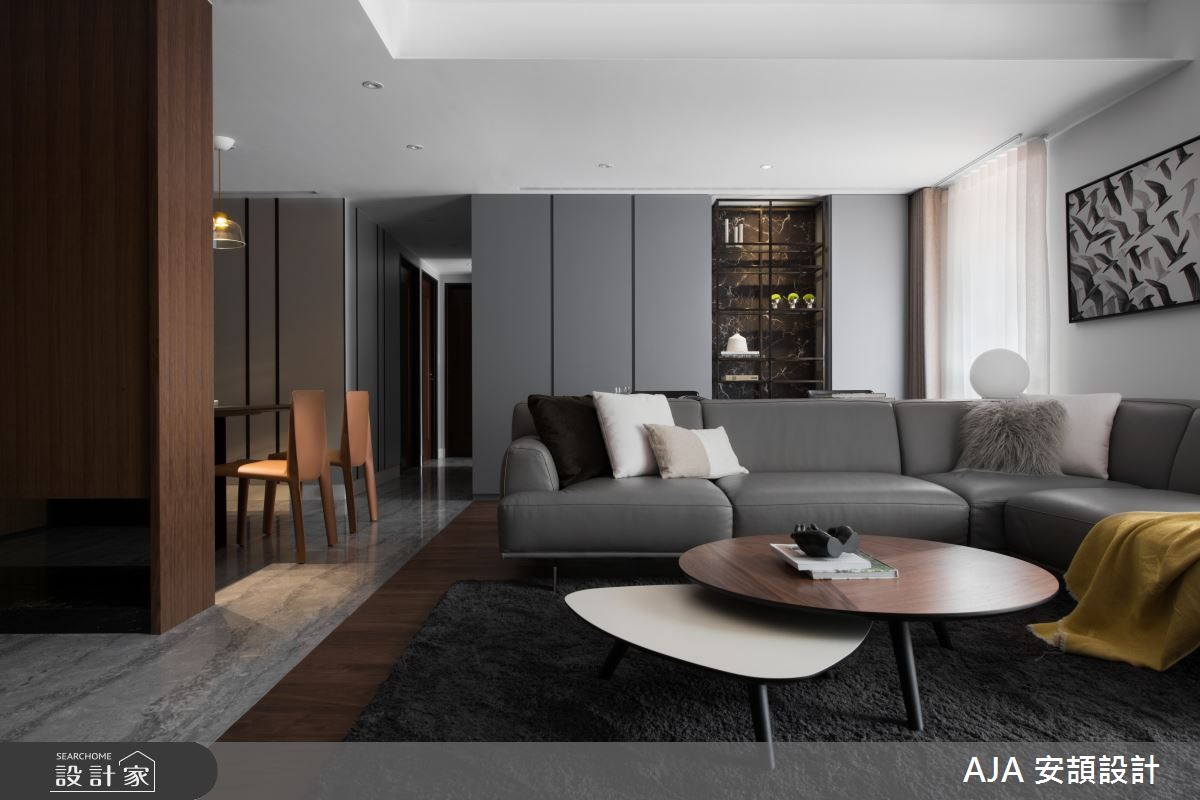 40坪新成屋(5年以下)_其他客廳案例圖片_AJA安頡建築室內設計_安頡_力麒首御 吳公館之5