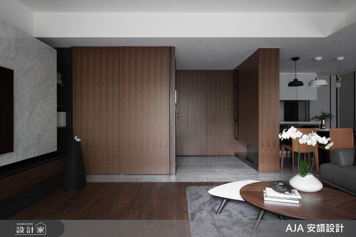 40坪新成屋(5年以下)_其他客廳案例圖片_AJA 安頡設計_安頡_力麒首御 吳公館之2