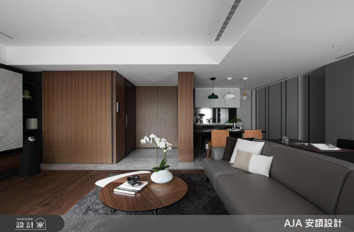 40坪新成屋(5年以下)_其他客廳案例圖片_AJA 安頡設計_安頡_力麒首御 吳公館之3