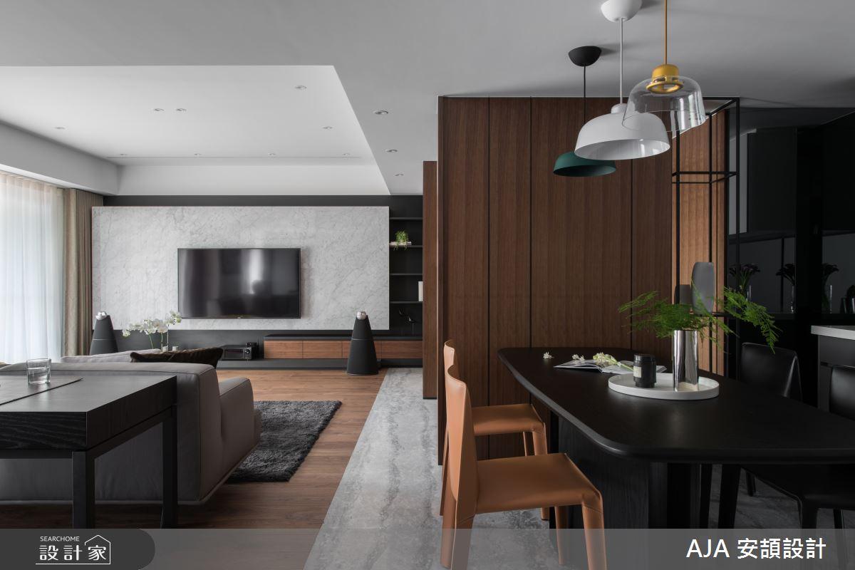 40坪新成屋(5年以下)_其他餐廳案例圖片_AJA安頡建築室內設計_安頡_力麒首御 吳公館之15