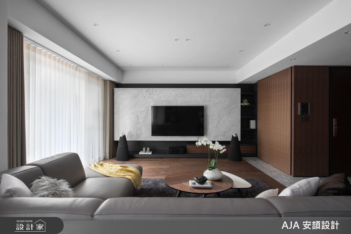 40坪新成屋(5年以下)_其他客廳案例圖片_AJA安頡建築室內設計_安頡_力麒首御 吳公館之11