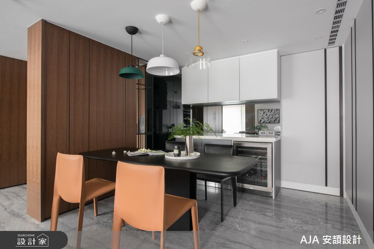 40坪新成屋(5年以下)_其他餐廳廚房案例圖片_AJA安頡建築室內設計_安頡_力麒首御 吳公館之16