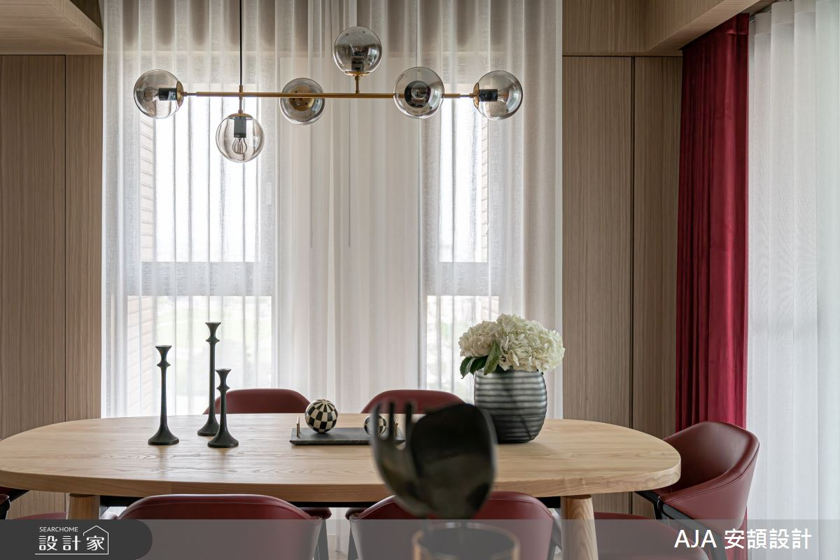 50坪新成屋(5年以下)_其他餐廳案例圖片_AJA安頡建築室內設計_安頡_天空院子 張公館之8