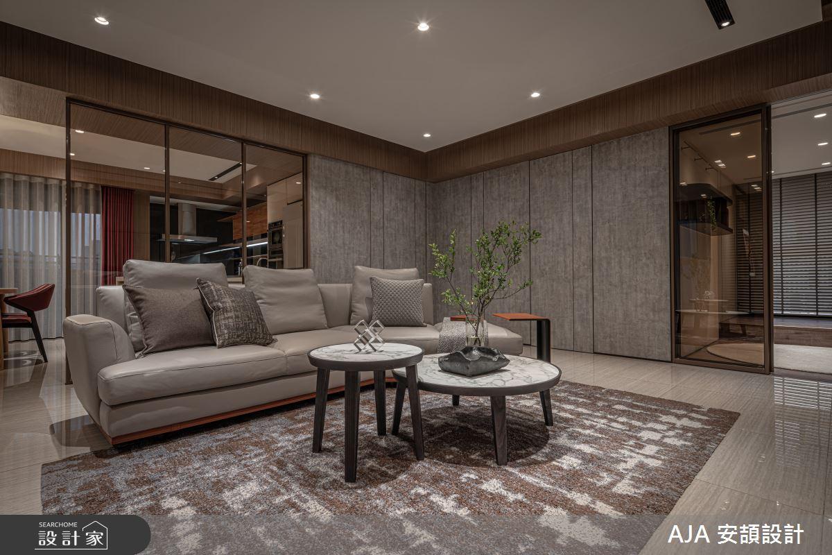 50坪新成屋(5年以下)_其他客廳案例圖片_AJA 安頡設計_安頡_天空院子 張公館之3