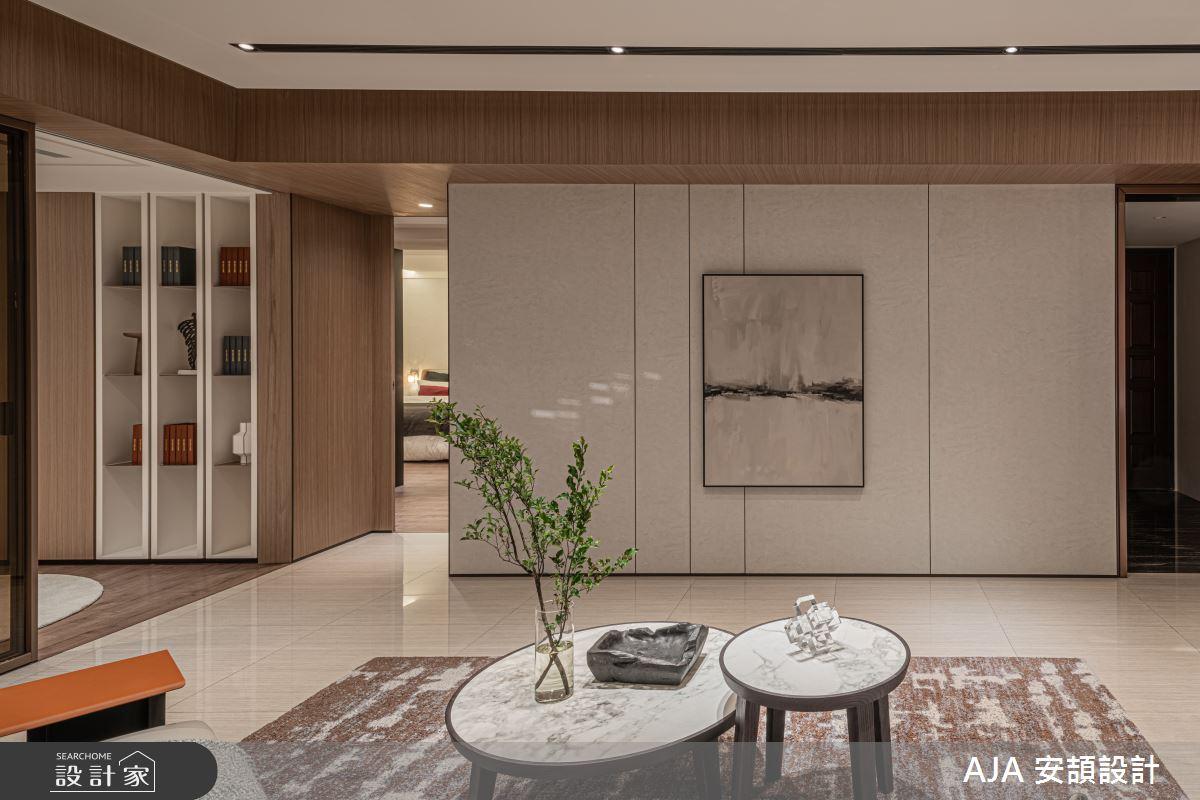 50坪新成屋(5年以下)_其他客廳案例圖片_AJA 安頡設計_安頡_天空院子 張公館之4
