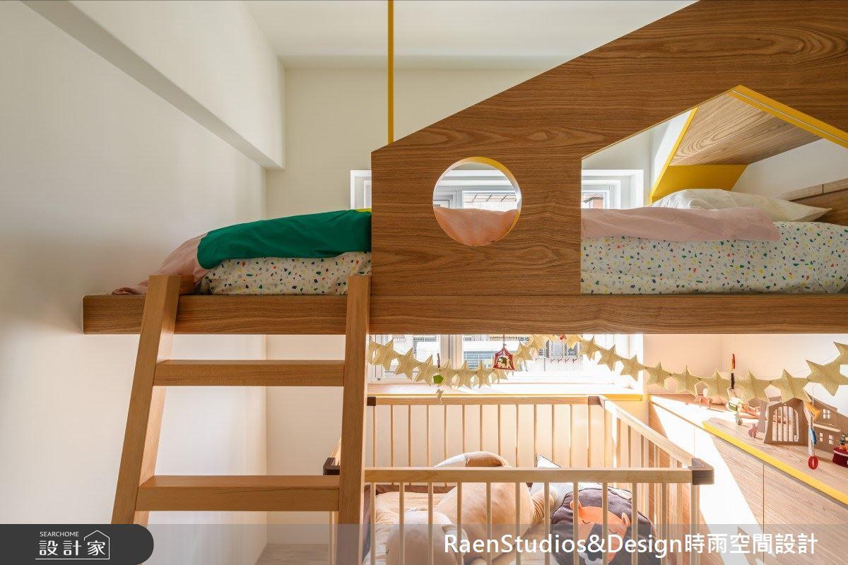 21坪老屋(16~30年)_北歐風兒童房兒童房案例圖片_時雨空間設計_時雨_Hej barn 嗨!孩子們之16