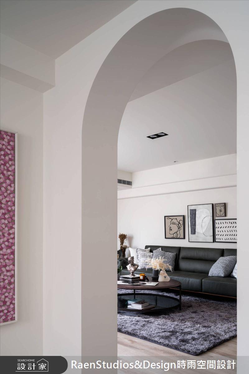100坪老屋(31~40年)_美式風客廳案例圖片_時雨空間設計_時雨_Homellery Home+Gallery之5