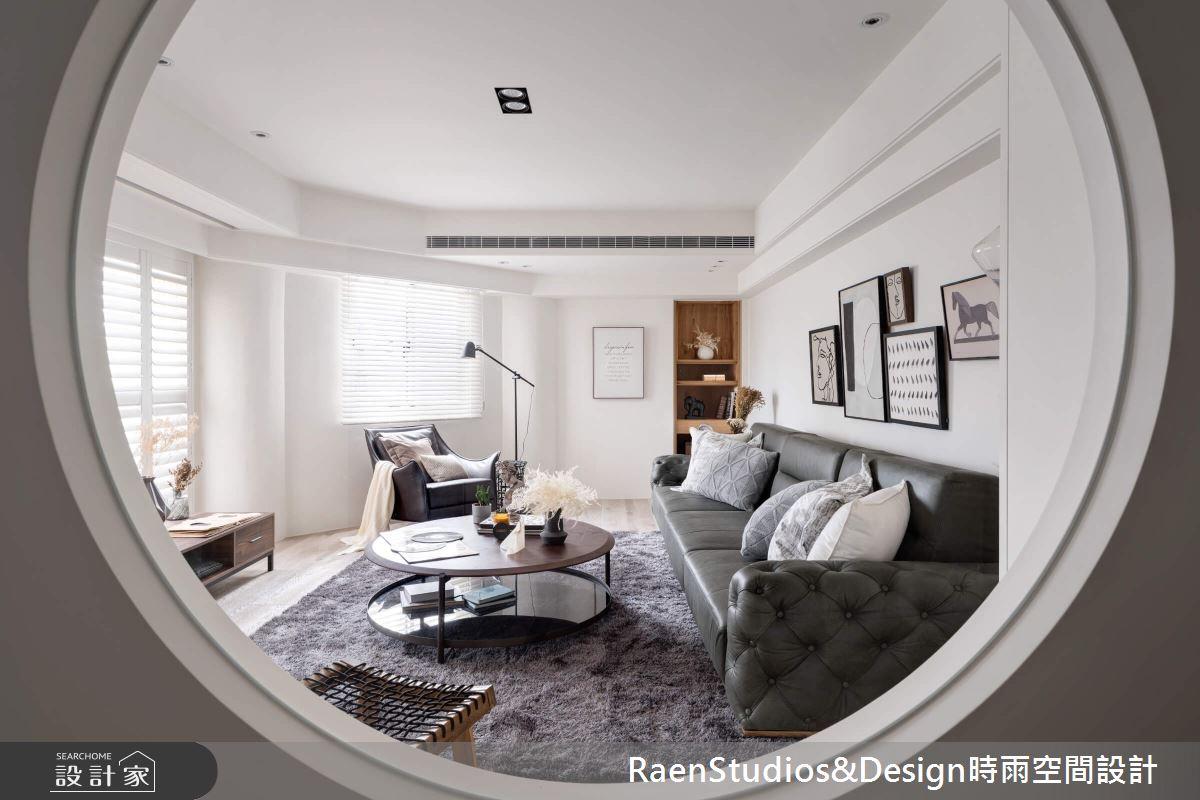 100坪老屋(31~40年)_美式風客廳案例圖片_時雨空間設計_時雨_Homellery Home+Gallery之3